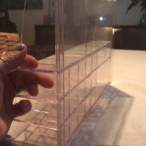 "Storage & Organization - 12"" x 8"" clear acrylic organizer"